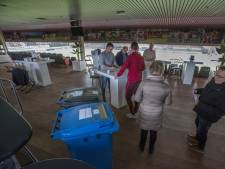Twintig keer gestemd bij stemlokaal Helmond Sport