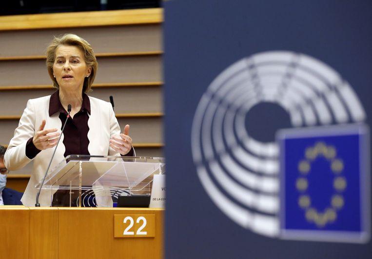Commissievoorzitter Ursula von der Leyen