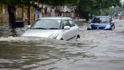 Vijfenveertig doden bij moessonregens in India