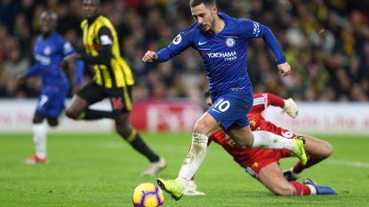 De 'Mertensmorfose' van Eden: Hazard excelleert onder Sarri als valse 9 bij Chelsea