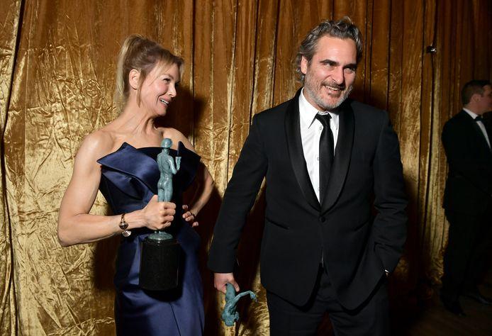 Renée Zellweger et Joaquin Phoenix