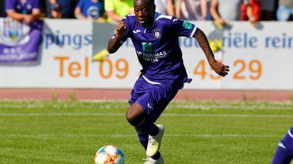 Thierry Lutonda Anderlecht Bel, 18 rechtsachter
