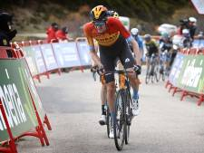 Poels tevreden met zesde plaats in Vuelta: 'Het was een heel zware dag'