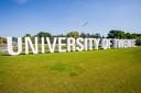 Het logo van de Universiteit Twente.