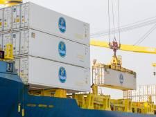 Containergigant MSC doet voor het eerst Vlissingen aan