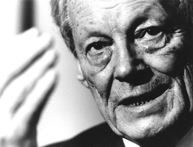 Willy Brandt. Beeld anp