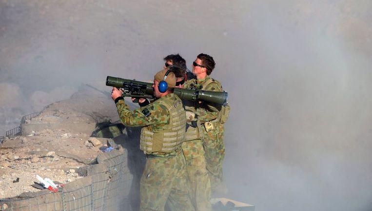 Australische commando's in Uruzgan. Beeld afp