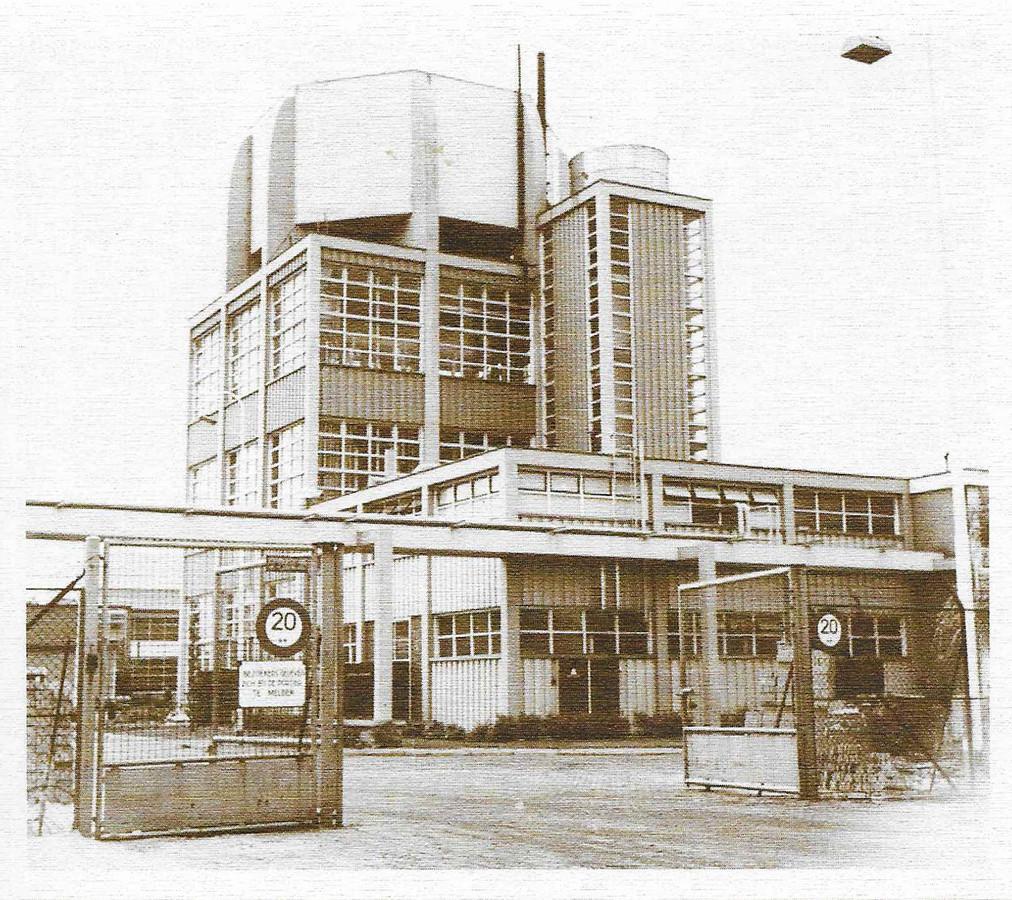 Philips opende in 1956 de nieuwe fabriek in Maarheeze.
