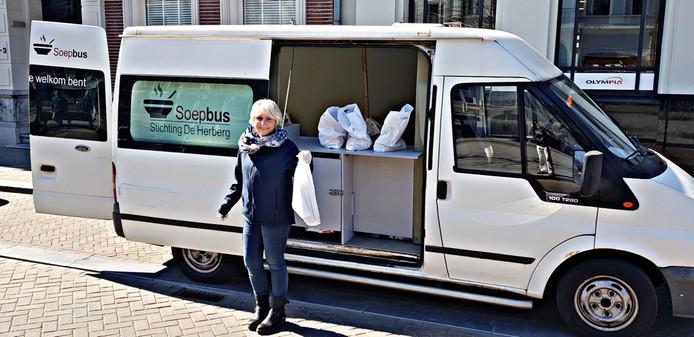 De soepbus in Breda