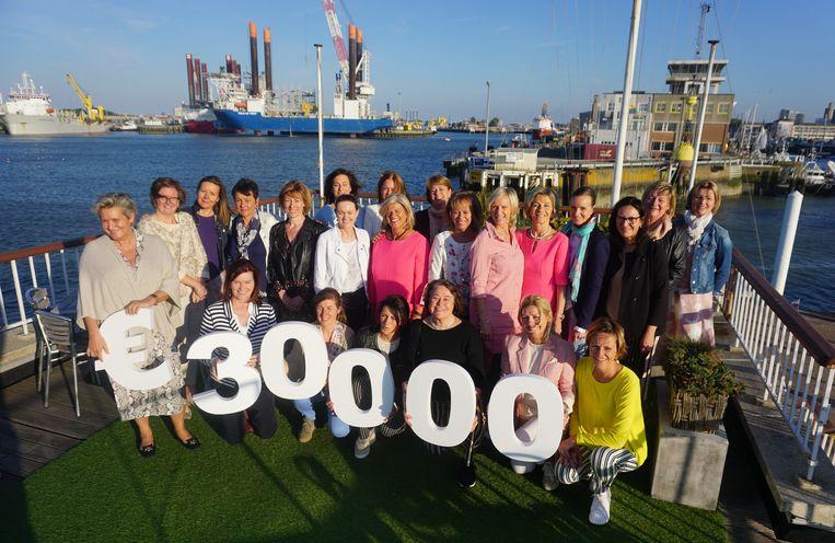 Lions Club Oostende BO4 schenkt 30.000 euro aan sociale organisaties in Oostende en omgeving.