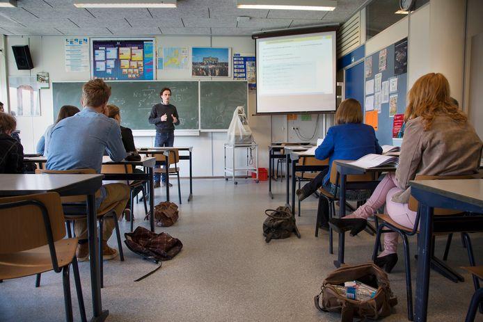 Een middelbare school. Foto ter illustratie.