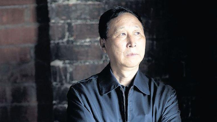 Sun Tiangang op het kantoor van zijn advocaat. Beeld Michael Czerwonka