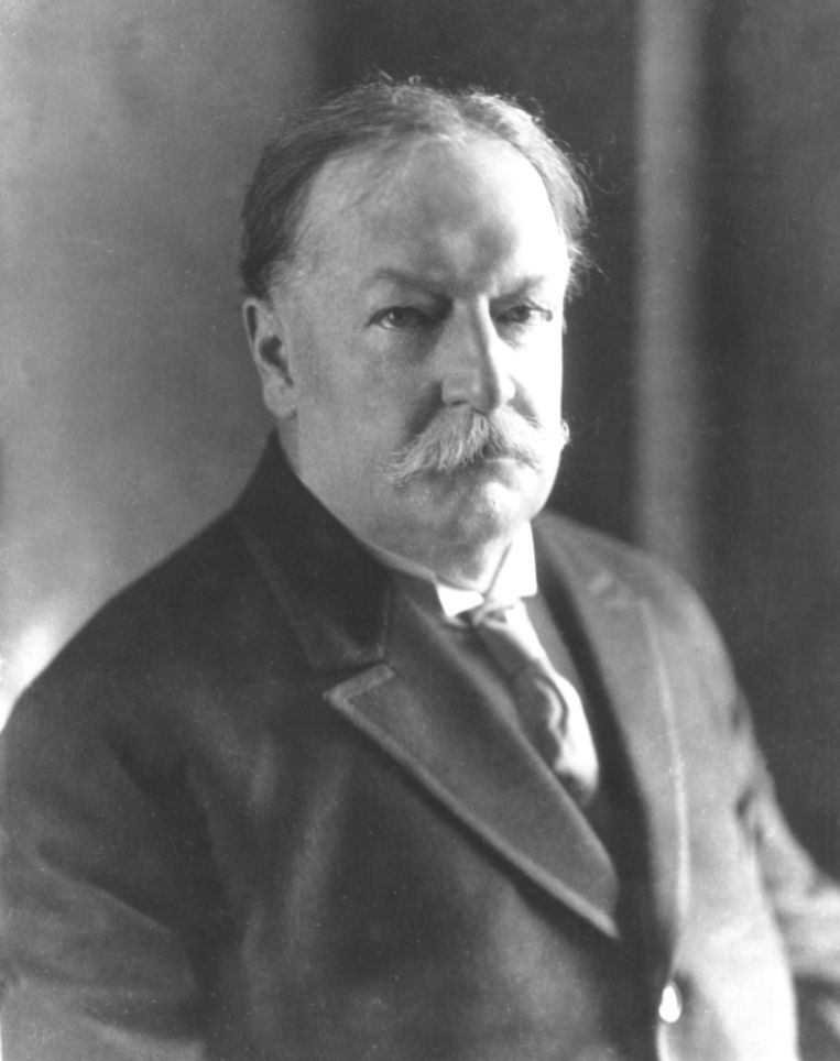 William Howard Taft, de 27ste president van de VS.