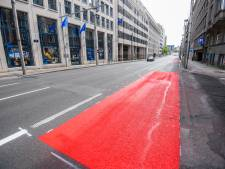 La rue de la Loi passe de quatre à trois bandes au profit des cyclistes