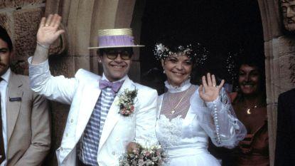 Ex-vrouw Elton John spant rechtszaak tegen hem aan