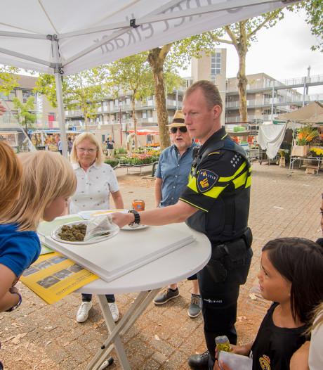 Wiet-container in Nieuwegein: ruiken mag, aankomen niet
