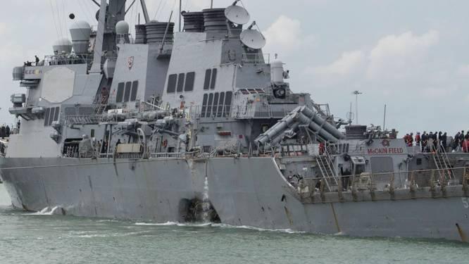 Lichamen gevonden in Amerikaans marineschip