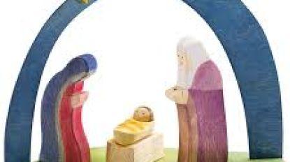 Kerststal in het nieuw