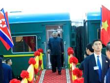 Kim per trein aangekomen in Vietnam, Trump nog onderweg