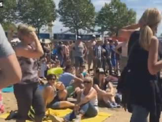 Na de modder: 'beach festival' op TW Classic