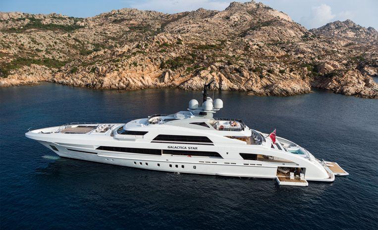 In totaal zitten in de Paradise Papers meer dan dertig schepen die gebouwd zijn door de Nederlandse luxe-scheepsbouw. Beeld Heesen Yachts