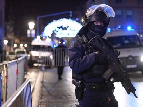 Klopjacht Franse politie op dader aanslag Straatsburg