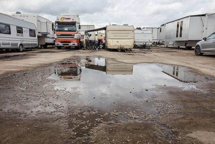 Kermiswagens in Helmond
