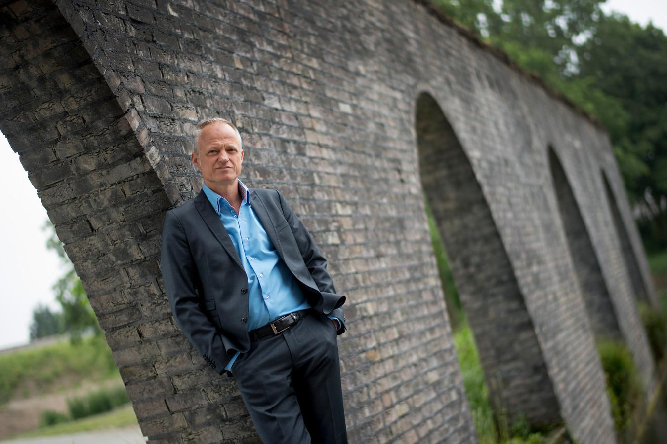 Co Verdaas, de nieuwe hoogste baas van waterschap Rivierenland.