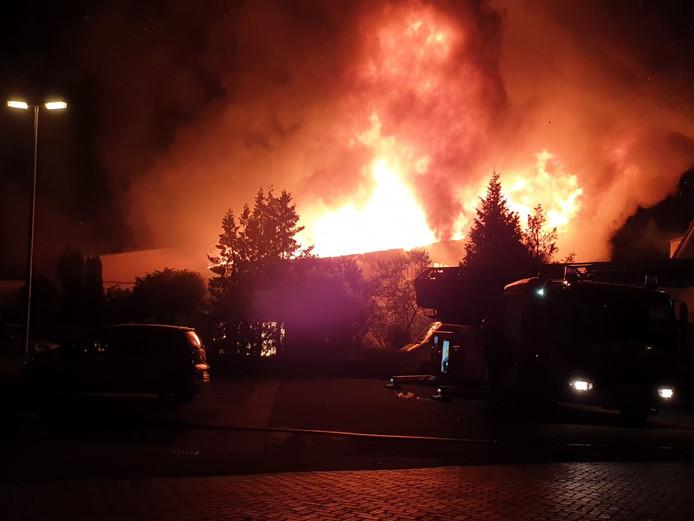 Brand bij Moeder Teresakerk in Hengelo