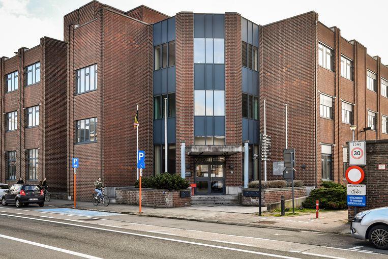 20190207 Dendermonde Foto Geert De Rycke Politierechtbank  -13 uur:  arbeidsrechtbank Dendermonde.  Politierechtbank - politie - noordlaan dendermonde