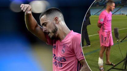 """Spaanse sportkranten zagen bleke Hazard tegen City, die na de wedstrijd toch weer een ijszak nodig had: """"Nooit de speler die Real kocht van Chelsea"""""""