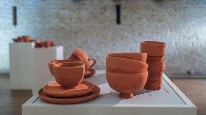 Clay Front, kunstproject met klei uit de frontstreek