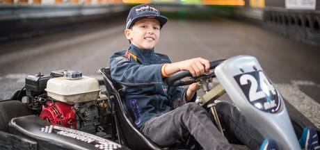 Racetalent Enzo (9) uit Elst in 'langzame kart' niet naar winst