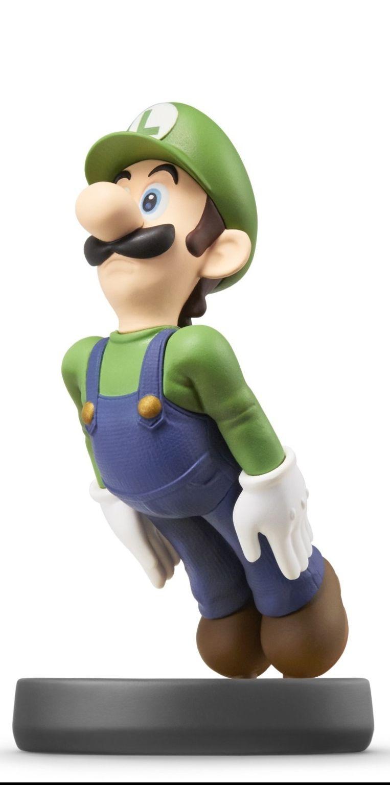 Luigi als Amiibo. Beeld Nintendo
