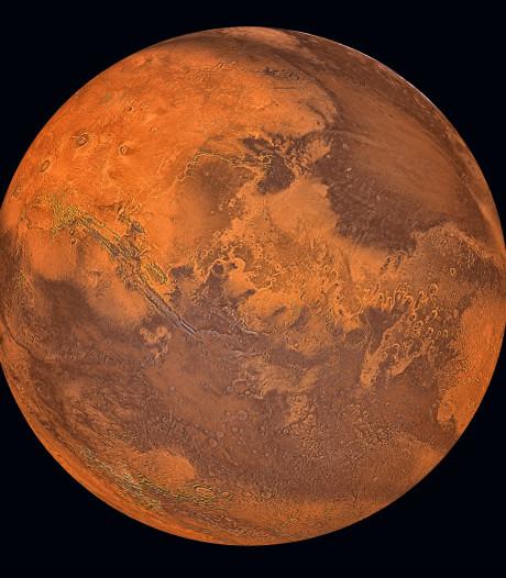 NASA vindt organisch materiaal in rotsen op Mars