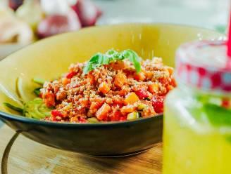 Bekkari start vanavond met spaghetti bolognaise zonder pasta