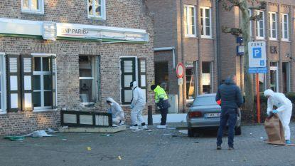 Deel van buit slingert op straat na plofkraak in Hamont