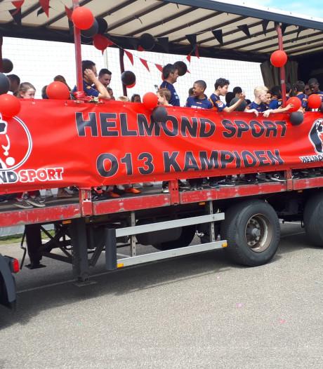 Positieve noot in rampseizoen Helmond Sport: enige jeugdelftal kampioen