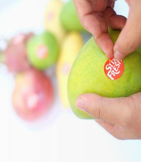 'Stickertje zou fruit twee weken langer vers houden'