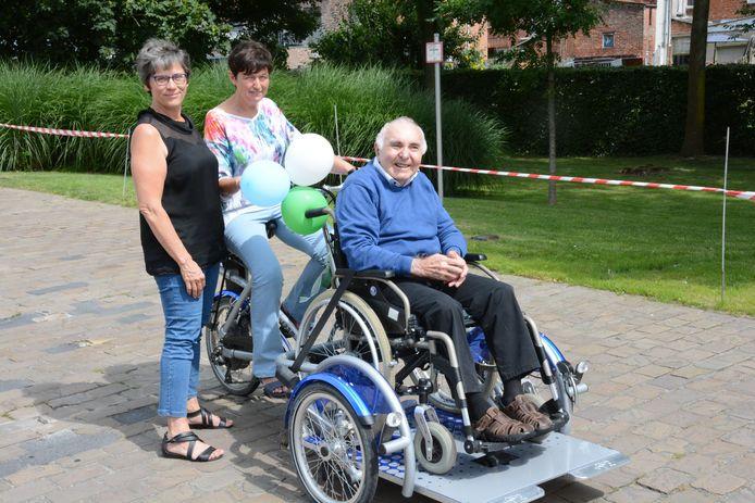 Sinds 2016 kunnen de bewoners al gebruikmaken van de elektrische rolstoelfiets.
