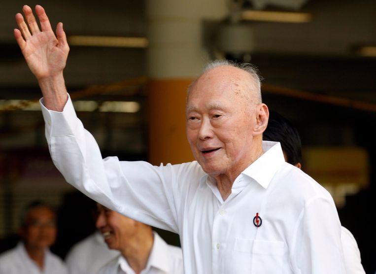 Lee Kuan Yew, de 'vader van Singapore' Beeld anp