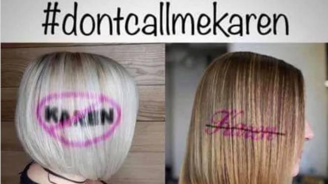 De meisjesnaam 'Karen' was nog nooit zo onpopulair, maar gaat wel viraal op sociale media