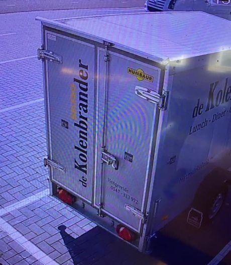 Hengeveldse horecabaas zet beelden koelwagendieven online