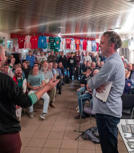 Verdwenen profclubs komen samen op De Wageningse Berg
