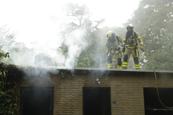 De brand gebeurde in woning aan de Bosweg in Wapenveld.