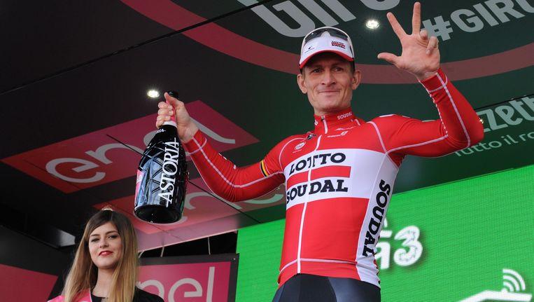 André Greipel was in de Giro nog goed voor drie ritzeges.