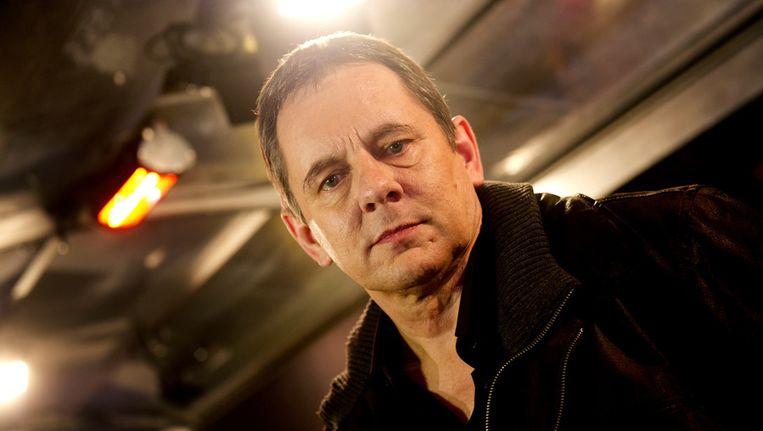 Regisseur Dick Maas bij de première van zijn nieuwe film Quiz, op 19 maart. Beeld null