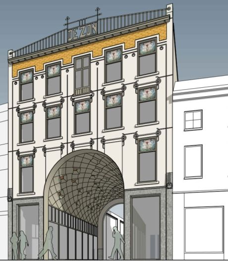 Puzzelstukje poortgebouw Heuvelstraat valt eindelijk op zijn plek: 'Eenvoud maar elegantie'