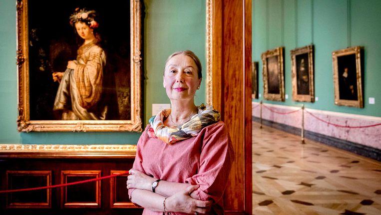 Dr. Irina Sokolova, hoofdconservator van de Hollandse meesters in de Hermitage in Sint Petersburg. Beeld anp