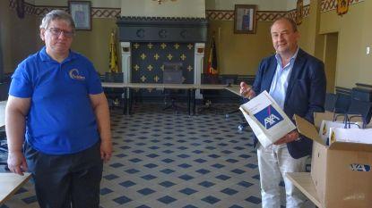 Gulden Eifeestecomité schenkt lading paaseieren aan OCMW, rusthuizen en instellingen in Kruisem